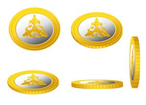 Golden Coins Floral Designs