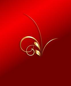 Golden Decor Element