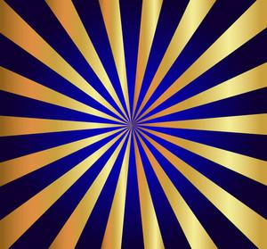 Golden Decor Sunburst