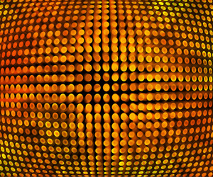 Golden Disco Background Texture