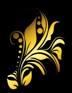 Golden Flourish Art