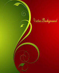 Golden Flourish Festive Background