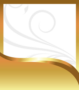 Golden Greeting Banner