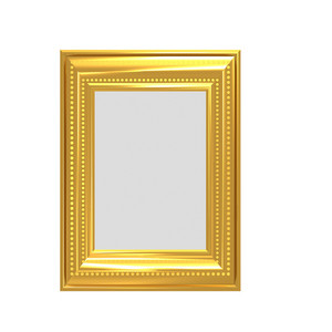 Golden Photo Frame