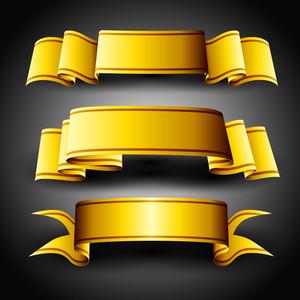Golden Ribbons Set