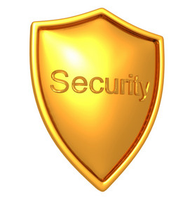 Golden Security Shield