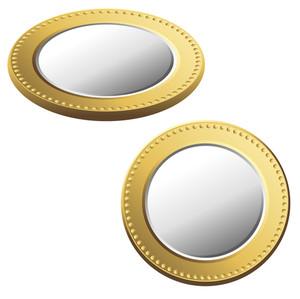 Golden Silver Coins