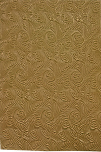 Golden Swirl Paper Pattern
