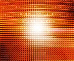 Golden Technology Abstraction Texture