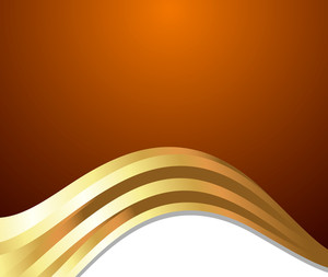 Golden Wave Festive Template