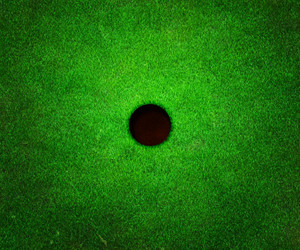 Golf Hole Background