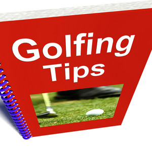 Golfing Tips Book Shows Advice For Golfers
