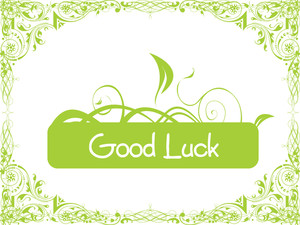 Good Luck Floral Series Design1