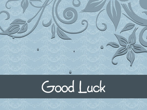 Good Luck Floral Series Design2