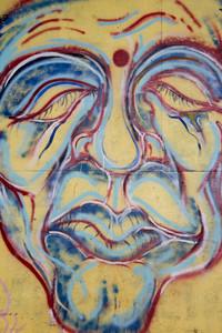 Graffiti Face Art