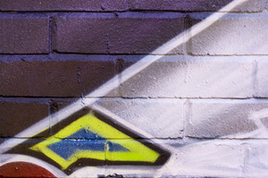 Graffiti texture - works great as a background or backdrop in any design.  Plenty of copy space.