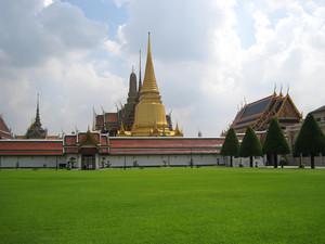 Grand Palace. A Temple Wat Phra Kaew