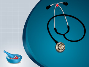 Graph  Medical Background With