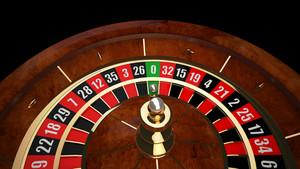 3D Casino Roulette Wheel