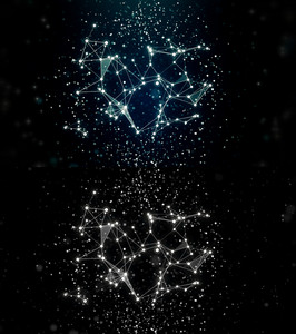 Abstract Stars Constellation
