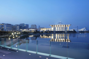 Beautiful landscape locate at Putrajaya,Malaysia