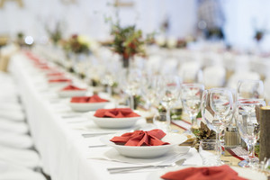Beautiful wedding event decoration for various celebration style