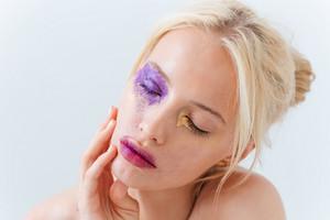 Beauty portrait of