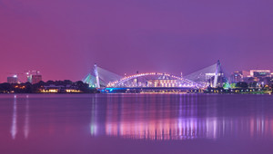 Bridge at night (Putrajaya bridge)