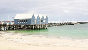 Busselton Jetty, Western Australia .