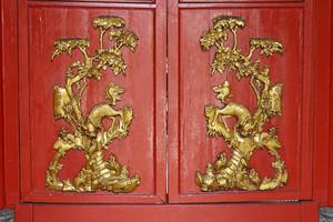 chinese door classic