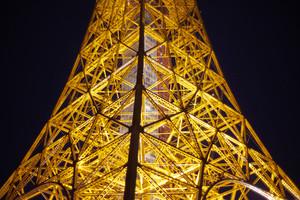 close-up Tokyo Tower , Japan