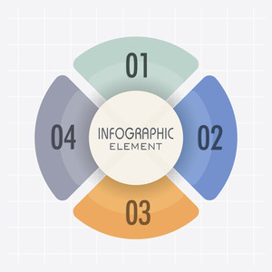 Creative infographic element layout for your Business reports and presentation.