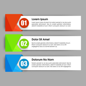 Creative infographic elements with number option for Business, Can be used as workflow layout, diagram, web design and presentation.
