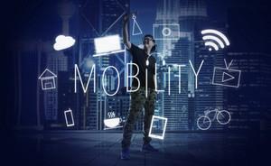 Digital Innovate Electronics Network Concept