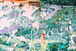 Graffiti wall, colorful abstract background
