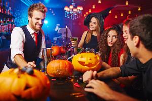Halloween program at nightclub