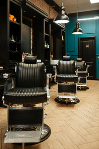 Image of interior with a very stylish and vintage chairs