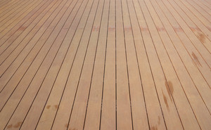 imitate wooden deck background lumber pattern