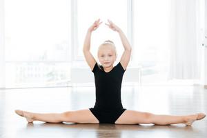in ballet school