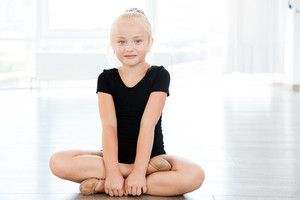 in ballet studio