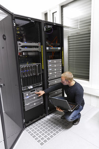 It engineer / consultant working in a data center. Maintain backup. Monitoring with laptop.