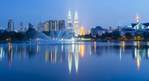 KUALA LUMPUR, 09TH JANUARY 2016; Taman Tasik Titiwangsa, also known as the Titiwangsa Lake Garden, is popular among the locals of Kuala Lumpur because it is close to the city centre of Kuala Lumpur.