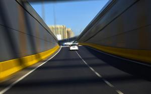 motion blur Street background