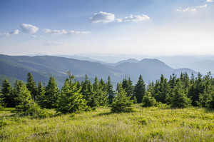Mountains in Slovakia: Beautiful landscape in summer.