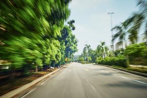 moving forward motion blur background,noon scene