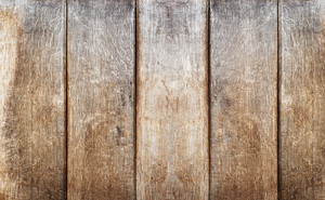 Old brown wooden board background, plank with texture, empty copy space