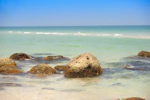 Paradise beach in Phu quoc islan, south of vietnam. Beautiful landscape