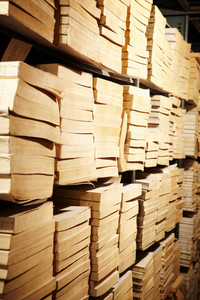 Photo of bookshelves in library of educational institution