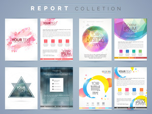 Professional Flyers, Templates or Brochures collection for your Business reports and presentation.