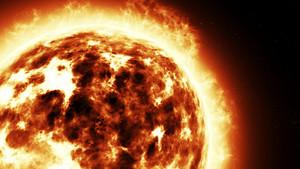 Realistic Sun in Space